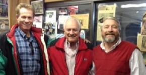 Loran Smith with Tall Paul and Julio 2/26/13
